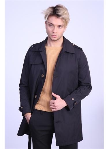 Ceketch Ceketch Erkek Sıyah Baharlık Trençkot Siyah